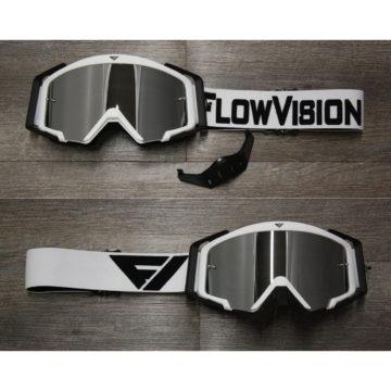 Flow Vision Goggles – White/Black
